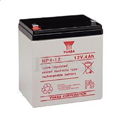 Batería de 6 Voltios 4 Amperios YUASA NP4-12