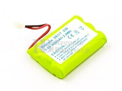 Batería 60AAAH3BMXZ teléfonos inalámbricos Alcatel, Ericsson, Thomson