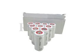 Caja de 10 Baterías Sub-c 1.2 Voltios 1.500 mah sin lengüetas para reparación de taladros