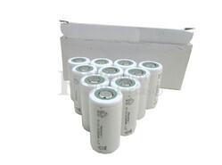 Caja de 10 Baterías Sub-c 1.2 Voltios 2.000 mah sin lengüetas para reparación de taladros