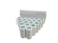 Caja 20 Baterías Sub-c 1.2 Voltios 2 Amp. S/Lengüetas para taladros