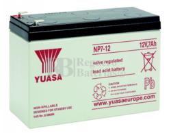 Batería para Salvaescaleras 12 Voltios 7 Amperios