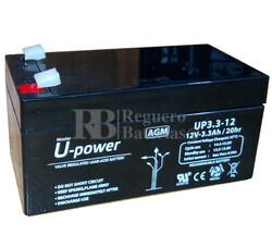 Batería para Salvaescaleras 12 Voltios 3,3 Amperios