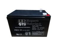 Batería SAI 12 Voltios 12 Amperios PB12-12 PREMIUM BATTERY
