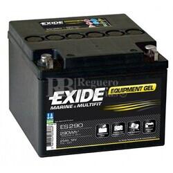 Batería GEL Carrito de Golf 12 Voltios 25 Amperios EXIDE ES290