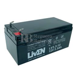 Batería 12 Voltios 3,3 Amperios Liven Battery