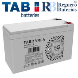 Batería 12 Voltios 7.2 Amperios TAB 5GVRLA7.2