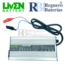 Cargador baterías 48 Voltios 4 Amperios Litio LifePO4