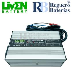 Cargador baterías 24 Voltios 3 Amperios Litio LifePO4