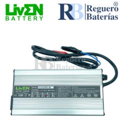 Cargador baterías LifePO4 36 Voltios 5 Amperios Litio