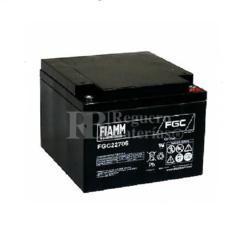Batería 12 Voltios 27 Amperios Fiamm FGC22705