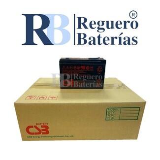 Batería GP1272WF2 12 V 7,2A Caja 10U