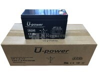 10 baterías 12 Voltios 7,2 Amperios U-POWER UP7.2-12