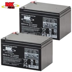 Kit Baterías 24 Voltios 14 Amperios MK ES14-12