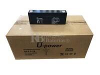 20 baterías 12 Voltios 2.2 Amperios UP2.2-12 U-POWER