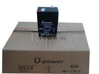 20 baterías 6 Voltios 4,5 Amperios U-POWER UP4.5-6