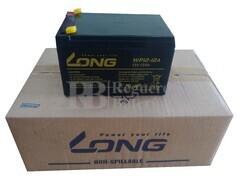 4 baterías 12 Voltios 12 Amperios LONG WP12-12