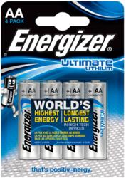 4 Pilas Lithium Ultimate AA Energizer LR6 L91