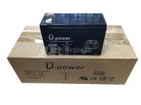 5 baterías 12 Voltios 9 Amperios U-POWER UP9-12