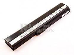 53663 Bateria compatible para ordenador ASUS K42, K53, A32-K52, Li-ion, 14,4V, 5200mAh, 74,9Wh, Negro