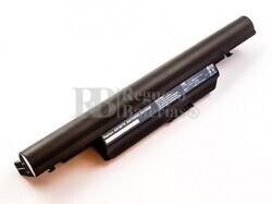53665 Bateria compatible para ordenador ACER Aspire 3820, Li-ion, 11,1V, 7800mAh, 86,6Wh, black