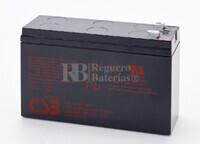 Batería de sustitución para SAI MGE MERLIN GERIN Pulsar ellipse 800 (MGE-009a)