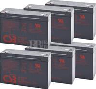 Baterías de sustitución para SAI MINUTEMAN A2000