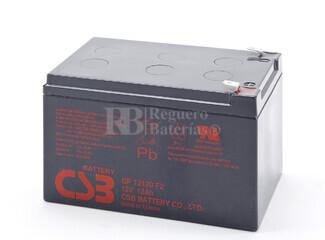 Batería BK650X06 de reemplazo 1xGP12120 para SAI APC