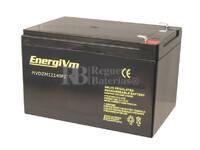 Batería SAI 12 Voltios 14 Amperios ENERGIVM MVDZM12140F2