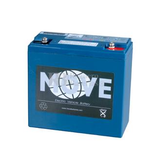 Batería AGM Ciclica para Carrito de Golf alta capacidad 12 voltios 26 amperios (En el formato de 18 AH)