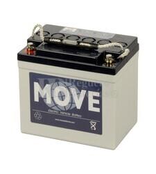 Batería de GEL Ciclica para Carrito de Golf alta descarga 12 voltios 30 amperios