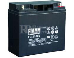 Batería para SAI 12 Voltios 18 Amperios Fiamm FG21803
