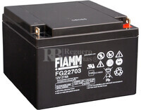 Batería SAI 12 Voltios 27 Amperios Fiamm FG22703