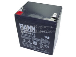 Batería SAI 12 Voltios 5 Amperios Fiamm 12FGH23