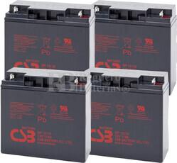 Baterías de sustitución para SAI DELTEC PRA2000