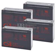 Baterías de sustitución para SAI DELTEC PRM1000