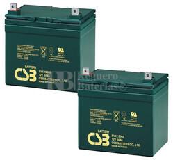 Baterías de sustitución para TOPAZ 1050