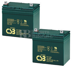 Baterías de sustitución para TOPAZ 10500002