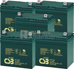Baterías de sustitución para TOPAZ 83256-03