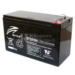 Batería para Alarma de 12 Voltios 7 Amperios de Alta Descarga RT1270H