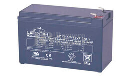 Batería para Alarma de 12 Voltios 7,2 Amperios LEOCH LP12-7.2