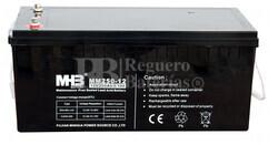 Bateria AGM para instalación solar 12 voltios 250 Amperios C100 523x240x224 mm MHB MM250-12