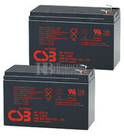 Baterías de sustitución para SAI SOLA S3700R