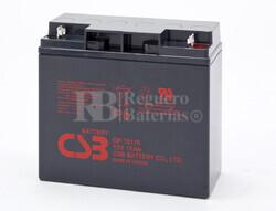 Batería para SAI Clary Corporation Ups12K1GSBSR