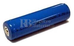 Batería de Li-ion para linterna recargable  ICR18650 3.7V 2.6A