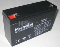 Batería para Ascensores 6 Voltios 12 Amperios U-POWER UP12-6