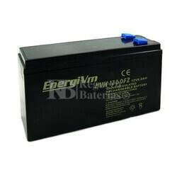 Batería para Ascensores 12 Voltios 6 Amperios ENERGIVM MVH1260