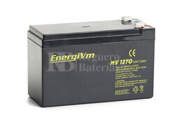 Batería para Ascensores 12 Voltios 7 Amperios Energivm