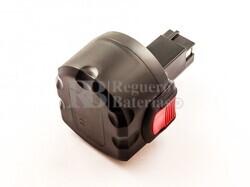 Batería para Bosch GDR 9.6 V   9,6V, 3A