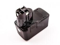 Batería para Bosch GSB 9.6VES 9,6V, 3A